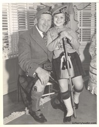 Sir Harry With Shirley Temple Los Angeles -1 1937