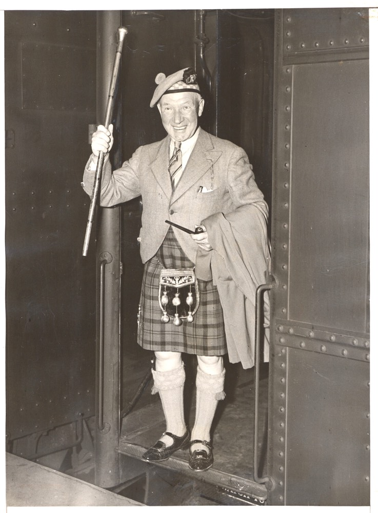 Sir Harry With Stick Grand Central  Photo May 31 1937