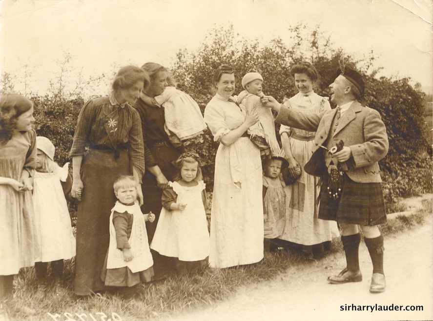 Sir Harry With Women & Children Undated Not Identified