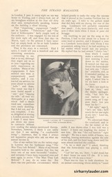 Strand Magazine My Reminiscenes By Harry Lauder April 1909 -7