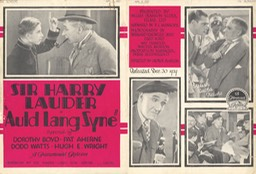 The Bioscope Promotion Auld Lang Syne Apr 23 1929