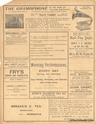 Theatre Royal Glasgow Aladdin Programme Bi-fold Jan 1 1906 -3