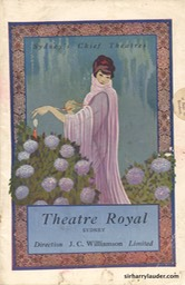 Theatre Royal Sydney Programme Booklet July 4 1925 -1