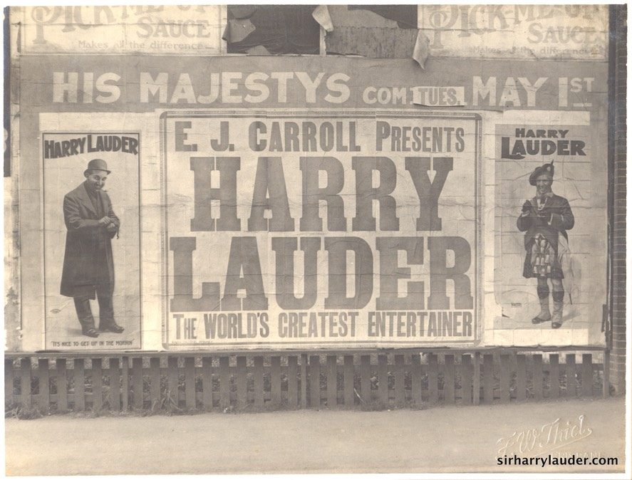 Theatrical Posters Photo Brisbane Undated