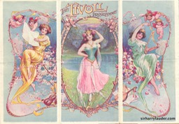 Tivoli London Programme Tri-Fold April 17 1911