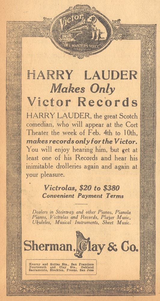 Victor Promotion Unknown Newspaper Verso In Pencil 1918 02 07