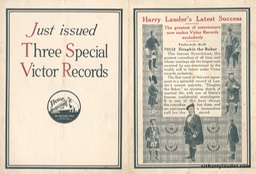 Victor Record Pamphlet Excerpt New Records** 1915