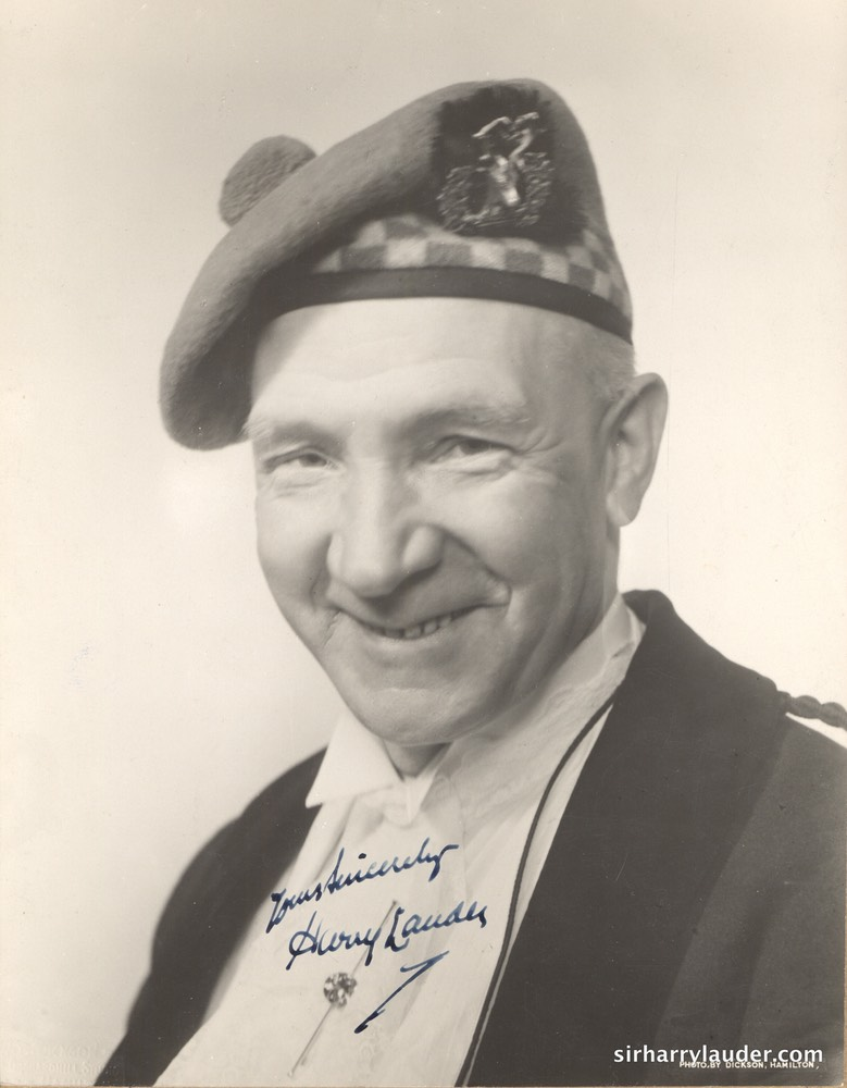 Yours Sincerely Signed Photo Undated