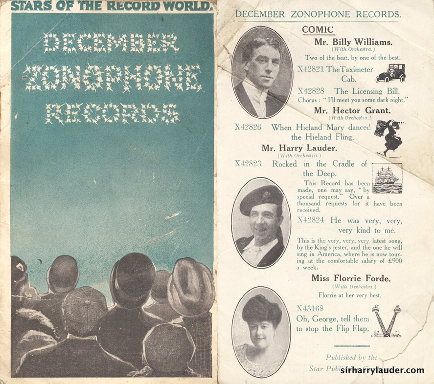 Zonophone Records Booklet Dec 1908